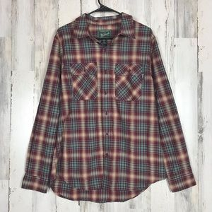 Woolrich | Men's Button Up Flannel NWT Large